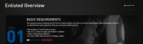 Air Force Raises Age Limit